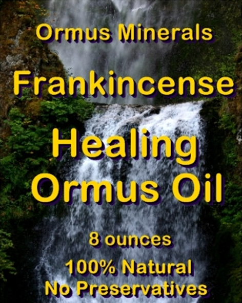 Ormus Minerals -Healing Oil with Frankincense Essential Oil